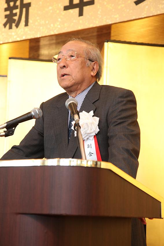1/7 平成27年新年賀詞交換会を開催しました。
